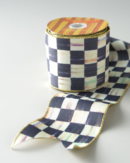 "Courtly Check 2"" Ribbon"
