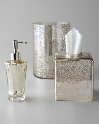 Vizcaya Glass Vanity Accessories