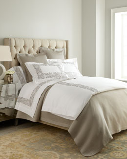 "SFERRA ""Plumes"" Bed Linens"