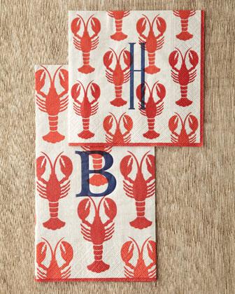 Lobster Cocktail Napkins & Guest Towels