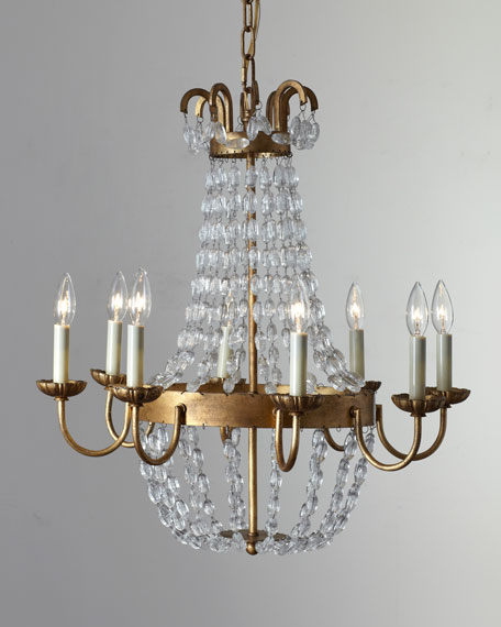 Paris Flea Market Small 8-Light Chandelier
