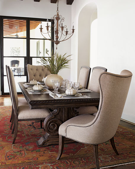 Two Donabella Upholstered Side Chairs