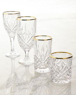 Dublin Gold Crystal Glassware