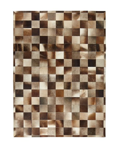Winslow Hide Blocks Rug, 8' x 11'