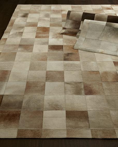 Winslow Hide Blocks Rug, 8' x 11'