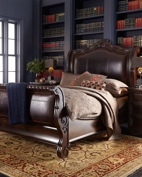 Colette King Sleigh Bed