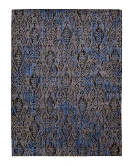 Moroccan Indigo Rug