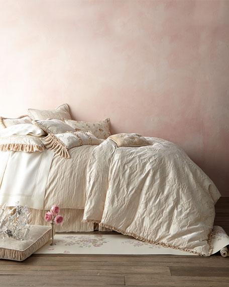 King Le Creme Maison Stripe Duvet Cover