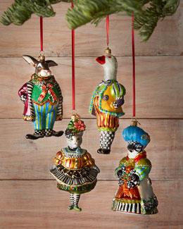 Barnyard Christmas Ornaments