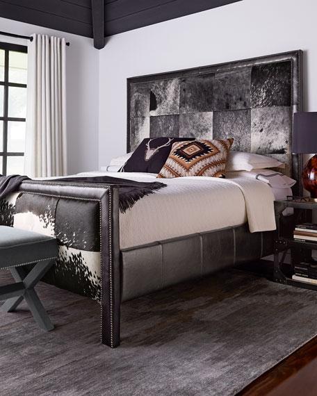 Omaha Queen Hairhide Bed