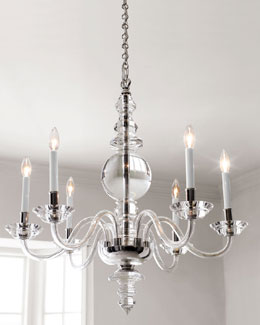 George II Polished-Nickel Lighting