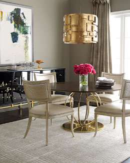 Massoud Juno Dining Table & Trinity Dining Chair