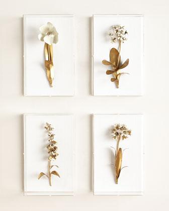 Original Gilded Flower Studies
