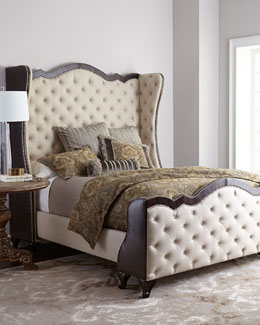 Ashton Linen & Leather Headboards & Beds
