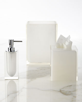 White Hollywood Vanity Accessories