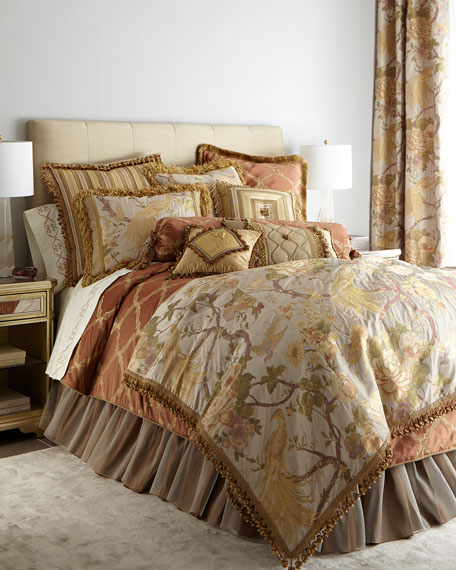 Matouk Fanciful Pheasant Bedding