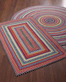 Crayon Braided Rug