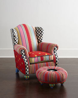 Wee Wing Chair & Tuffet