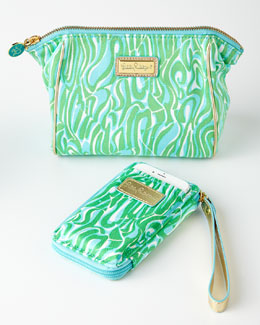 Finders Keepers Smartphone Wristlet & Cosmetic Bag