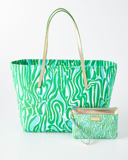 Finders Keepers Wanderlust Wristlet & Resort Tote