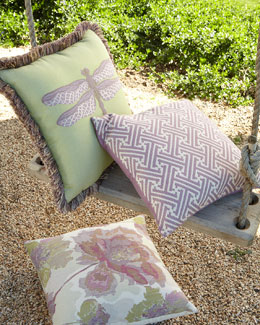 English Garden Outdoor Pillows