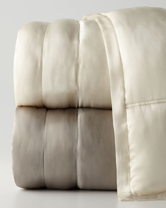 Reflection Silk Quilt & Shams