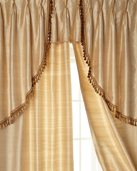 Pair of Left & Right Swag Valances