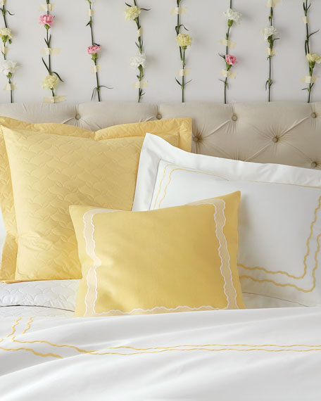 Queen 406 Thread Count Percale Fitted Sheet