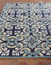Paige Floral Tile Indoor/Outdoor Rug