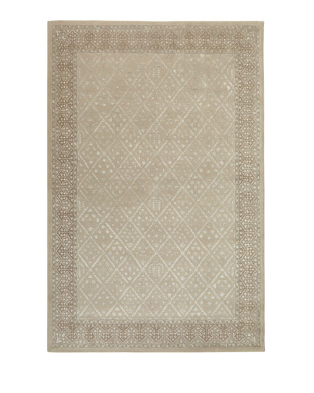 "Cottage Cream Rug, 7'6"" x 9'6"""