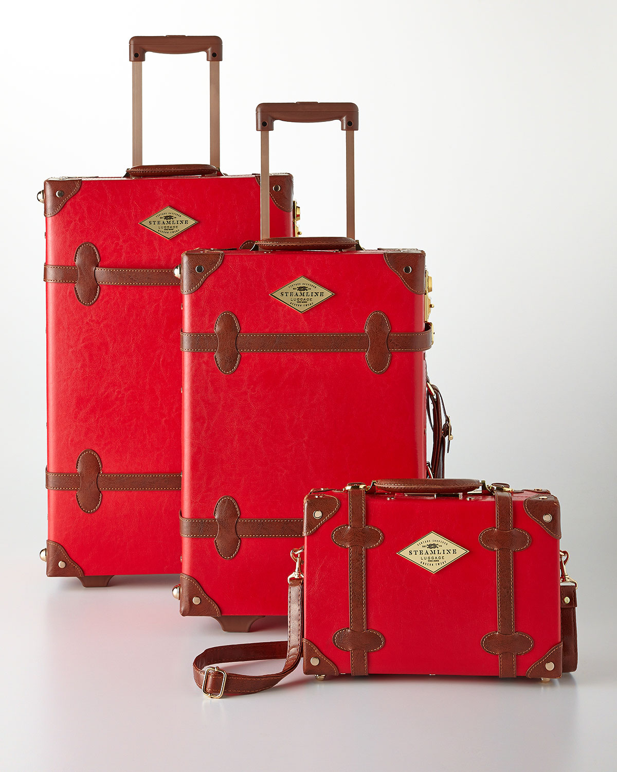Red Entrepreneur Luggage