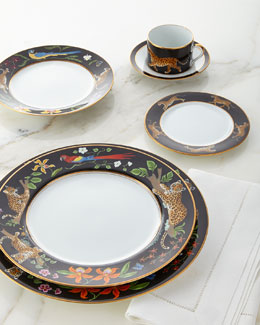 5-Piece Jaguar Jungle Dinnerware Place Setting