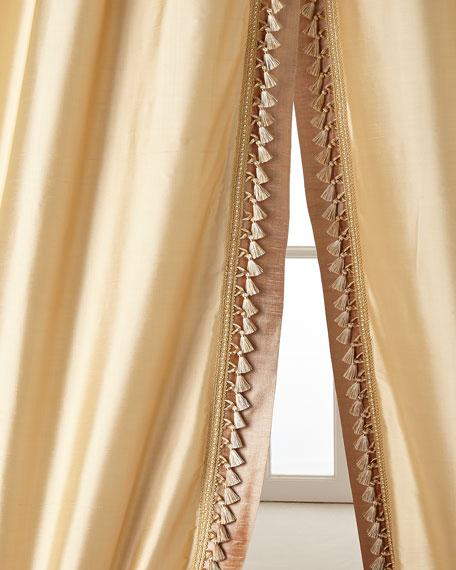 """Two 52""""W x 108""""L Villa Di Como Curtains"""
