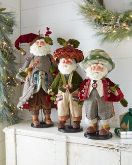 Santa & Gnome Dolls