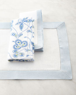 Filetto Placemats and Filetto & Calypso Napkins