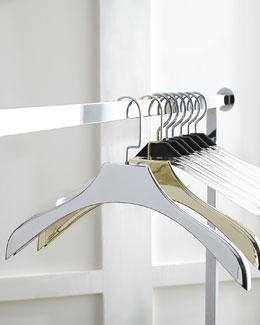 Clear & Metallic Hangers