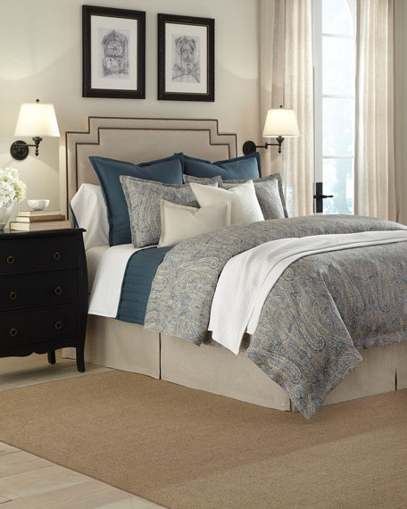 "King Spoleto Coverlet, 106"" x 96"""