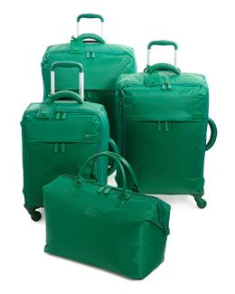 Green Nylon Luggage