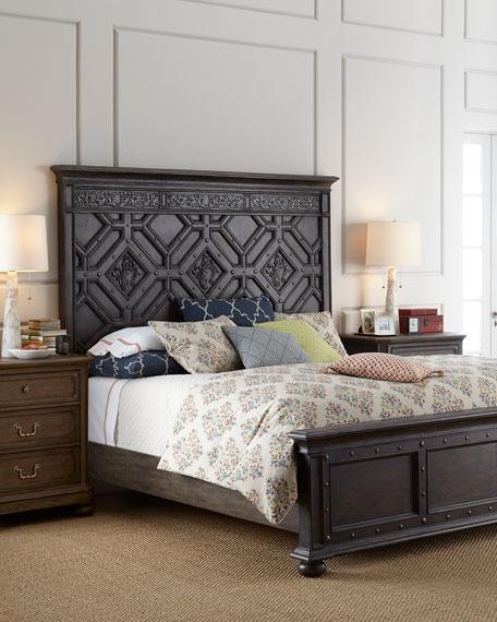 Matilda California King Panel Bed