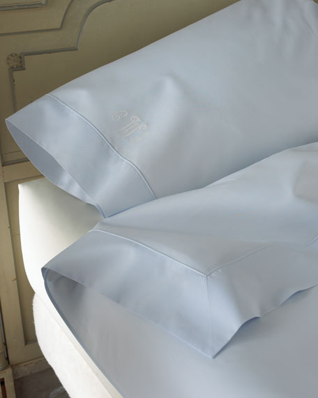 Two King Italian 500TC Percale Pillowcases
