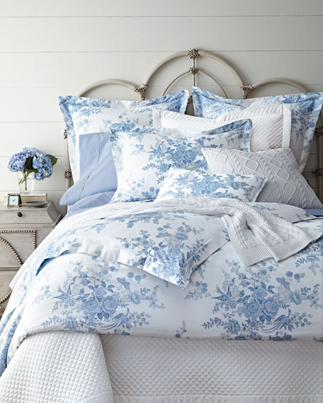 Name Of Ralph Lauren Blue And White Bedding