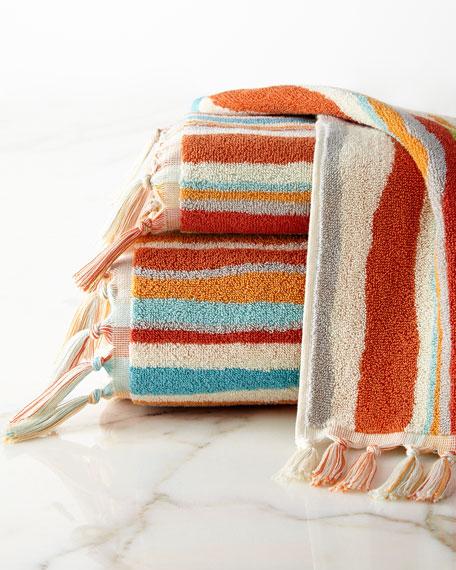 Kaiya Stripe Bath Towel