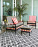 Spindle Cabana Outdoor Chair
