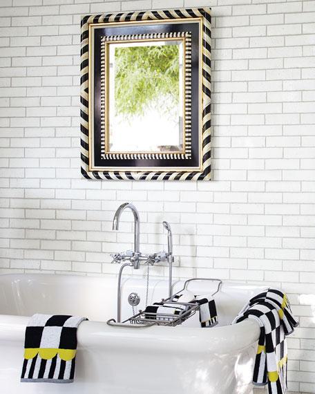 Incroyable Courtly Check Bath Towel