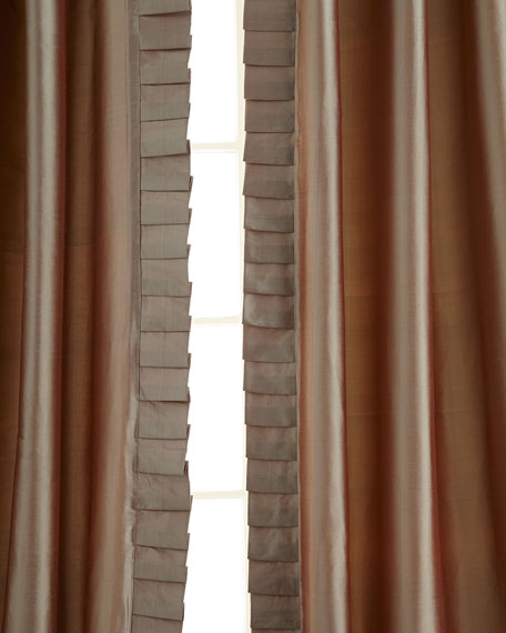 "Pair of 50""W x 108""L Simone Curtains"