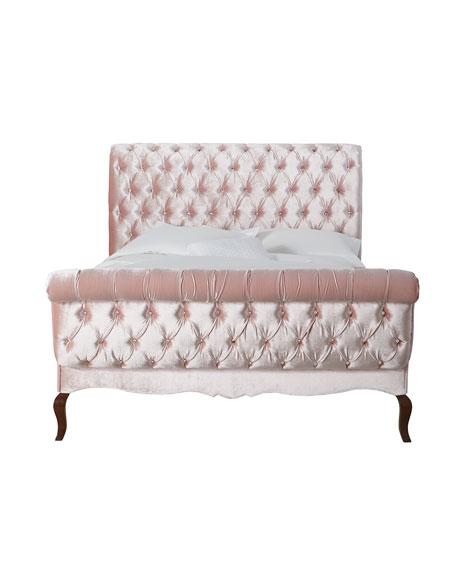 Duncan Tufted King Bed
