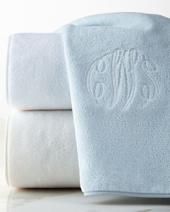 Bathroom Napkins solid towels : monogrammed & hand towels at horchow