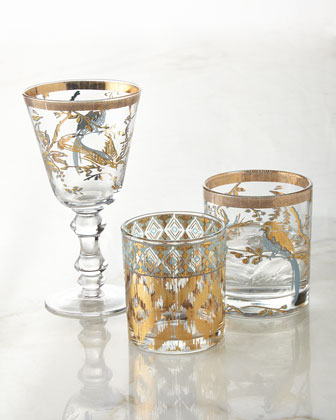 Chanteuse & Mint Twist Glassware