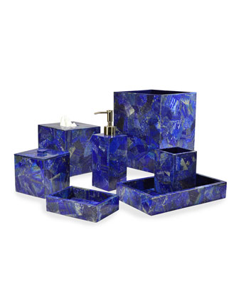 Taj Lapis Vanity Accessories
