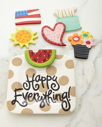 Happy Everything Neutral-Dot Mini Platter & Attachments